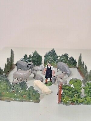 Britains Vintage Lead Sheep Farm Scene. Combined Postage Offered.  • 26£