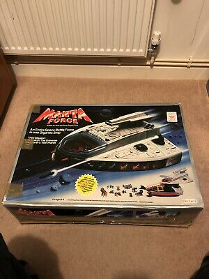 Manta Force Airship Station And Attack Ship Vintage 1987. Boxed. Complete • 55£
