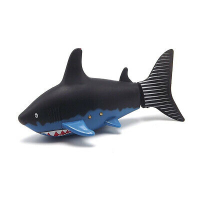 Remote Control Mini Shark   Kids Electronic Pet Toy Children Gift - Black • 9.50£