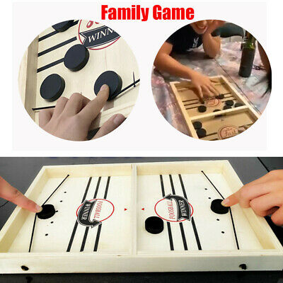 Fast Sling Puck Game Paced SlingPuck Winner Board Family Games Toy Juego Child • 14.25£