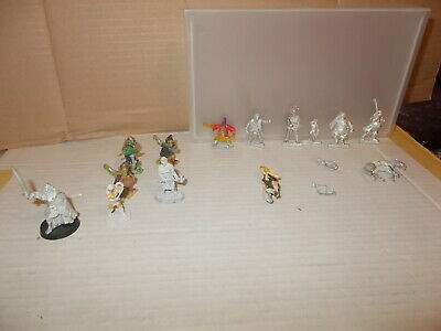 Job Lot Mix Of Miniature Metal Fantasy Figures,inc. Hobgoblin Ect.see All Photos • 7.99£