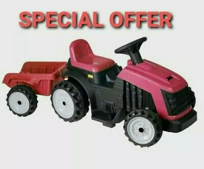 Evo Battery Operated Tractor & Trailer Ride On Toys New-SPECIAL OFFER • 79.95£