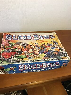 Blood Bowl The Game Of Fantasy Football Games Workshop Boxed Game  X2 Extras • 9.50£