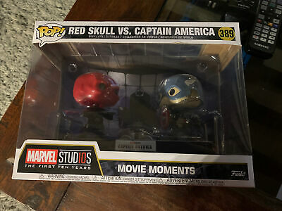 Captain America And Red Skull Pop Funko 389 • 50£