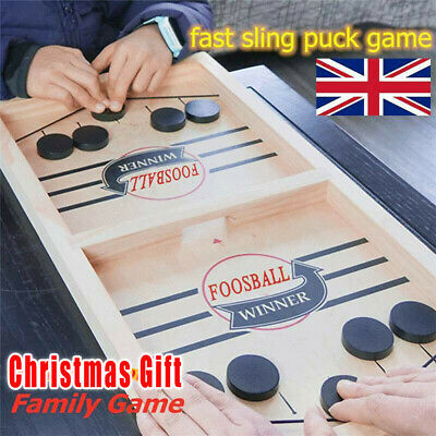 Fast Sling Puck Game Paced SlingPuck Winner Board Family Games Child Toys Gifts! • 13.99£