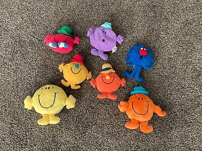 JOB LOT 5x ORIGINAL McDONALDS MR MEN SOFT TOYS  • 8.99£