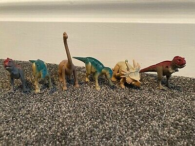 Job Lot 5x Original McDonalds Happy Meal - Plastic Dinosaurs Toys  • 3.99£