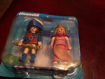 New Playmobil 4913 Knight And Princess Double Figure Pack Brand New Sealed  • 4.50£