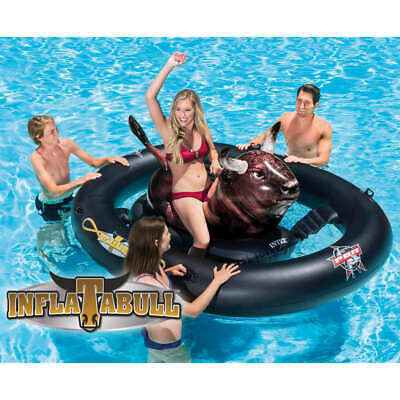 Intex Inflatable Pool Float Inflatabull Lounger Swimming Floating Mat Seat • 58.99£