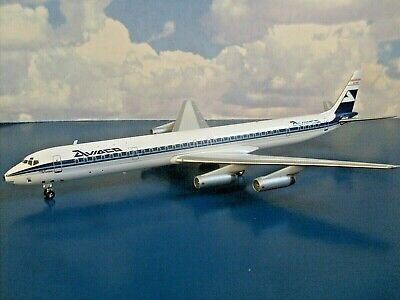 Inflight 200. Douglas Dc-8-63, Ec-bse,aviaco, Spain. Ifdc630118, With Stand. New • 62.99£