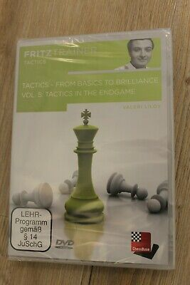 Tactics - From Basics To Brilliance Vol 5: Endgame Tactics - Fritztrainer DVD • 14.99£