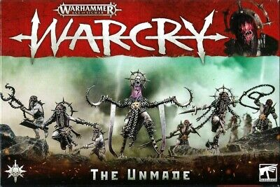The Unmade - Warcry - Games Workshop - New In Box • 18£