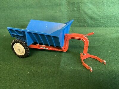 Britains Farm Vintage Tractor Shawnee Poole Dump Tipping Trailer • 10£