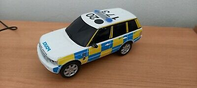 Scalextric Digital Police Car Land Rover With Lights & Siren (Bits Missing) • 22£