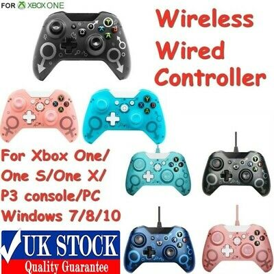 Wireless/Wired Controller For Xbox One/P3 Console/One X Microsoft Windows 10 Uk • 27.19£