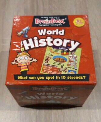 Brainbox World History Brain Challenge Game Age 8+ • 5£