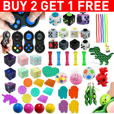 Fidget Toys Set Sensory Tools Bundle Stress Relief Hand Kids Adults ADHD Toy • 3.99£