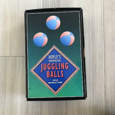 Hoyle's Famous Juggling Balls With Instructions  Circus Games  • 5.99£