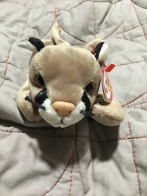 Ty Beanie Baby Canyon - Cougar  - Mint - Retired With Tags • 200£