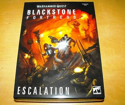 Warhammer Quest Blackstone Fortress Escalation Expansion - NEW - NO FIGURES • 36£