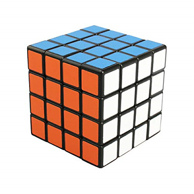 Cooja 4x4 Cube, Smooth Magic Cube 3D Puzzles Cube Puzzle Toys Brainteasers Boys • 14.75£