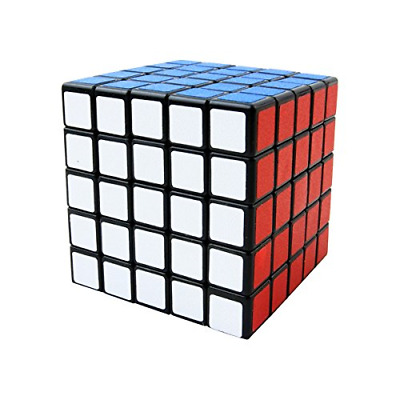 Cooja 5x5 Cube, Smooth Magic Cube 3D Puzzles Cube Puzzle Toys Brainteasers Boys • 15.95£