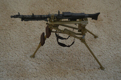 Dragon Models 1/6 Scale WWII German MG34 With Working Tripod • 35£