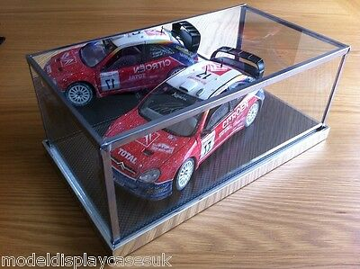 1:18 Racing Saloon - Minichamps - Lemans Gmp - Kyosho - Glass Display Case Only • 36£