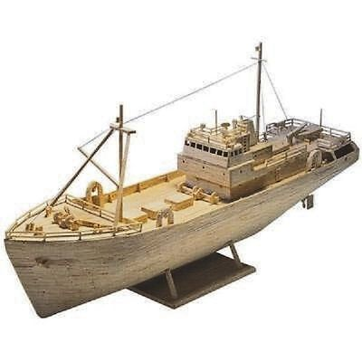 SIDE TRAWLER Matchstick Matchmodeller Model Construction Kit - NEW • 24.95£