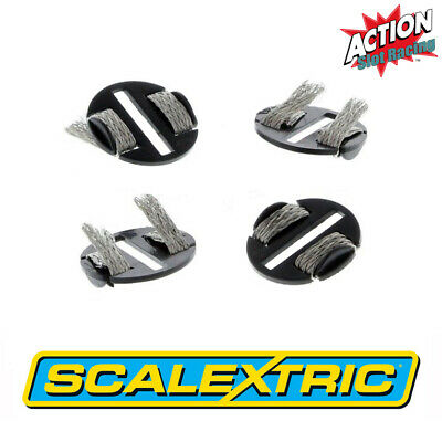 Scalextric Sport C8329 Quick-Fit Pickup Plates With Braids X 4 • 3.25£