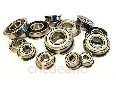 √ Full Range Of Inch Fr Series Flanged Zz & 2rs Bearings All Sizes Available √  • 8.55£