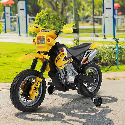 HOMCOM Kids Ride On Scrambler Motorbike Electric Motocross 6V Battery Car • 66.99£