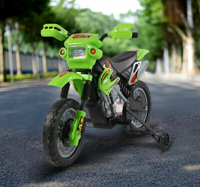 HOMCOM Kids Electric Motorbike Child Motorcycle Battery Scooter • 67.99£