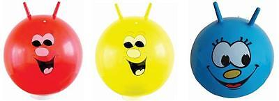 60cm/24  Children/Adult Space Hopper Jump & Bounce Toy In Red Blue Or Yellow • 8.99£