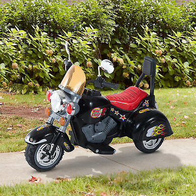 HOMCOM Electric Kids Ride On Toy Child Motorbike W/ 3 Wheels Kid Play • 67.99£
