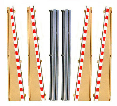 Scalextric Classic 1:32 Borders & Barriers L7991 L7992 - 4 Lead In • 6.99£