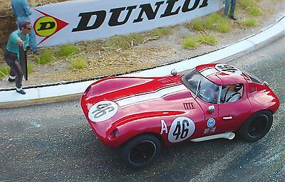 Probuild 1/32 RTR  Slot Car C1960's BILL THOMAS CHEETAH COUPE  # 46 RED - M/B • 169.99£