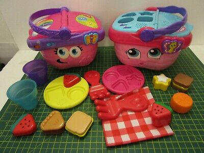 LeapFrog Shapes And Sharing Picnic Basket Spare Parts For OLD & NEW VERSION • 6.99£