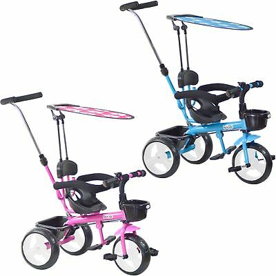Boppi 4 In 1 Trike Parent Handle Stroller Tricycle For Babies Toddlers Children  • 51.99£
