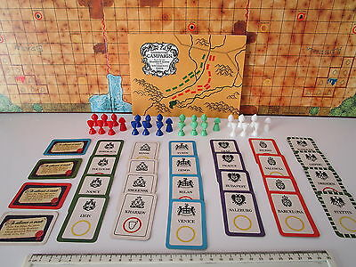 Vintage CAMPAIGN BOARD GAME SPARES [Spares Replacements Only] • 1.95£