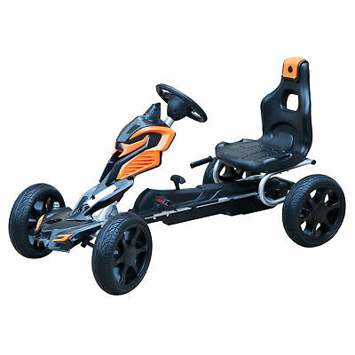 HOMCOM Pedal Go Cart Ride-on Kids Children Outdoor Fun Games EVA Wheels Safe • 102.99£