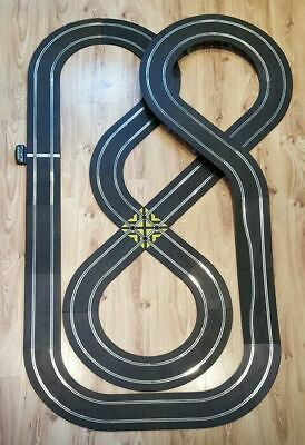 Scalextric Sport 1:32 Track Set - Double Figure-Of-Eight Layout #NBa • 59.99£