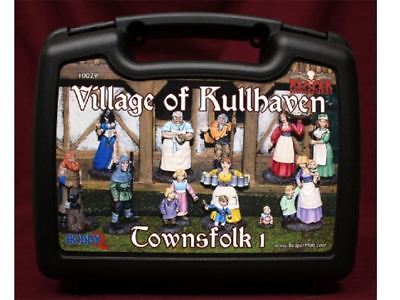 Reaper Miniatures Boxed Set - Village Of Kullhaven Townsfolk 1 • 23.41£