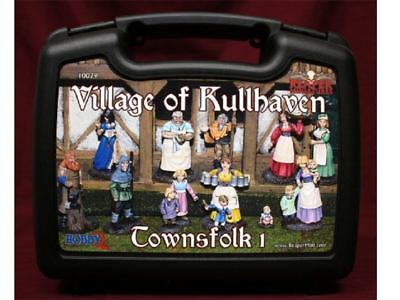 Reaper Miniatures Boxed Set - Village Of Kullhaven Townsfolk 1 • 29.98£