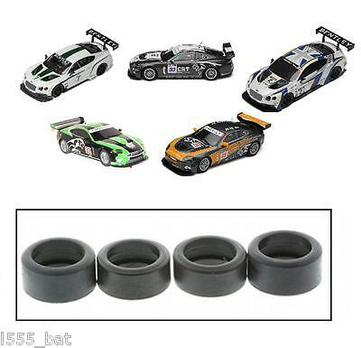NEW Scalextric W9828 Tyres Pack For Jaguar XKR GT3 & Bentley Continental GT3 • 5.99£