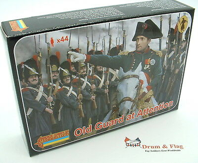 Strelets Set 171 - Old Guard At Attention - Napoleonic French. 1/72 Scale • 11.50£