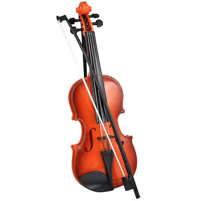 Kids Violin & Bow Childs Childrens Musical String Instrument Toy For Practice • 9.99£