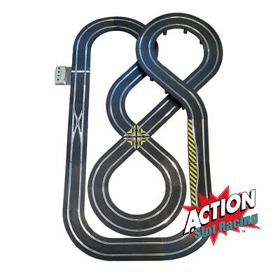 Scalextric Sport 1:32 Track Set - Double Figure-Of-Eight Layout DIGITAL #NBQ • 99.99£