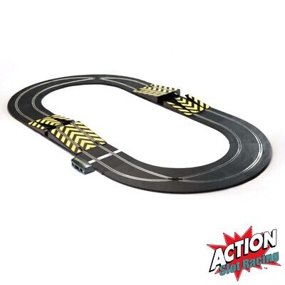 Scalextric Sport 1:32 Track Set Layout - Oval With Pair Of Ramps #A • 19.99£