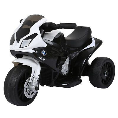 HOMCOM Electric Kids Ride On Motorcycle BMW Liscensed W/ Headlights Music Black • 55.99£